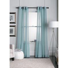 Threshold™ Linen Grommet Sheer Curtain Panel