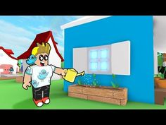 Roblox / Meep City - Planting Flowers and New House Windows! / Gamer Chad Plays - YouTube