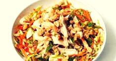 Asian Chicken Salad Recipe is a tasty & super delicious American dish. American Dishes, American Food, American Recipes, Asian Chicken Salads, Chicken Salad Recipes, Indian Food Recipes, Healthy Recipes, Ethnic Recipes, Fried Rice