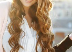 doing my hair every day to try to perfect this hair. I'm in love!