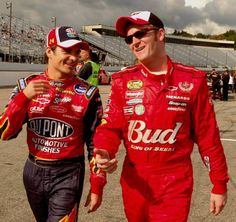 The Kansas City Star Jeff Gordon and Dale Earnhardt Jr..back in the day