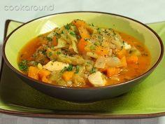 Minestrone di pollo e verdure | Cookaround: cucina e ricette, Zuppe e Minestre, Cucina Regionale e Internazionale