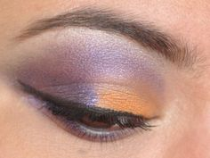 Purple and orange #eyeshadow #365daysofmakeup