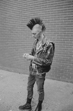 Punk is an attitude, sometimes reflected by its' style, but most often by it's demeanor.