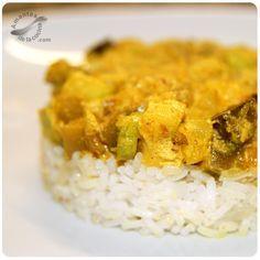 Esta receta de berenjena y calabacín estilo hindú es un plato muy rico, saludable y super rápido de hacer. Indian Food Recipes, Vegan Recipes, Ethnic Recipes, Sin Gluten, Cooking Time, Vegan Vegetarian, Risotto, Tapas, Macaroni And Cheese