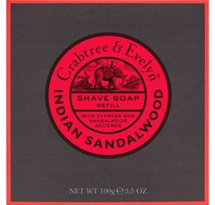 Crabtree & Evelyn barbersåpe refill - Indian Sandalwood