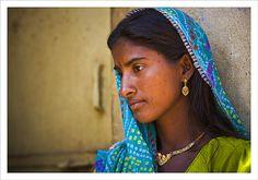 Rajasthani finery, Pushkar... - Pushkar, Rajasthan