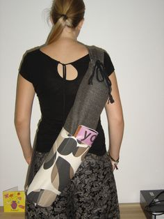 Yoga Bag pattern with lots of pockets