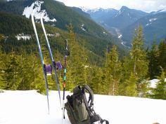 Sweat Hog's Outdoor Recreation Blog: Cross country skiing around Mt Baker