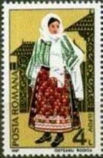 Rumanía-Traje Folclórico Femenino de Ilfov