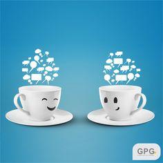 Vamos trocar uma ideia sobre as suas redes sociais? Venha tomar uma cafezinho com a gente!