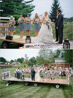 wedding ceremony ideas. this is very possible!