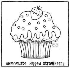 Resultado de imagem para panos de prato cupcakes desenho