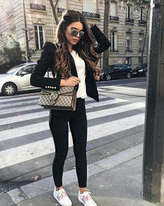 Blocco di colore Rosa Pantaloni sportivi pants TRACK Tumblr Stripe fashion kawaii 90S LINEA DONNA