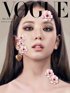 Blackpink Jisoo, Kpop Girl Groups, Kpop Girls, Blackpink Wallpaper, Blackpink Poster, Posters, Vogue Beauty, Black Pink Kpop, Blackpink Photos