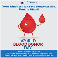 Be a savior by donating blood. You could save someone's life.  During these tough times, donate blood only after proper tests.  #Worldblooddonorday #donateblood #savelife #savior #blooddonation #hyderabad #eyehospitalhyderabad Eye Infections, Graduation Post, Care Hospital, Blood Donation, Eye Doctor, Medical College, Eye Treatment, Tough Times, Hyderabad