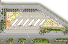 Al Taawun Bus Terminal Bus Station, Train Station, Concept Architecture, Architecture Details, Parking Plan, City Skylines Game, Bus Stop Design, Urban Ideas, Airport Design