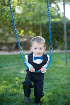 Casey McFarland Photography - cute boy on swing