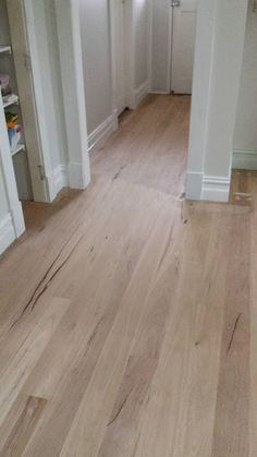 timber flooring This Little Yellow House. Blackbutt floors after sanding Wide Plank Flooring, Timber Flooring, Stone Flooring, Vinyl Flooring, Flooring Ideas, Light Hardwood Floors, Yellow Houses, Austin Homes, Floor Colors
