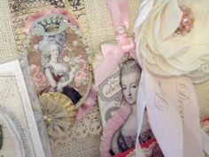 Marie Antoinette collage from My So Called Junky Life