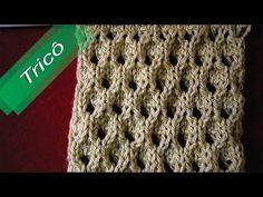 DIY - Tricô - Ponto Conchas (Passo a Passo) Mari Trentini - YouTube