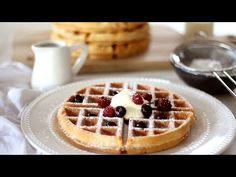 Belgian Waffle Recipe – Recipes by Carina Best Belgian Waffle Recipe, Easy Waffle Recipe, Waffle Recipes, Baking Recipes, Dessert Recipes, Desserts, Breakfast Recipes, Breakfast Ideas, How To Make Waffles