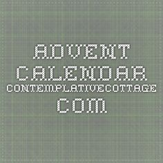 Advent Calendar contemplativecottage.com