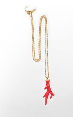 Lily Pulitzer Sea Coral Necklace in Pink Tomato