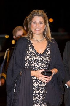 Queen Maxima of The Netherlands arrives for the 10th International Frans Liszt Piano Competition on 08.11.2014 in Utrecht, The Netherlands