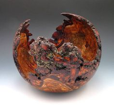 AAW Forum contest entry - cherry burl by Ed Koenig