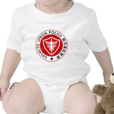 GUP Gavan the Space Sheriff Type 07 Baby Bodysuit. Kamen Rider Club and Space Cop Gavan the Galactic Union Police.