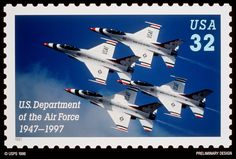 United States Postage Stamps | the u s postal service honored the air force during a pentagon ...