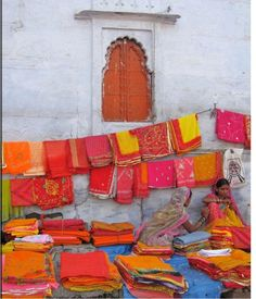 Spring, colour & Indian inspiration...