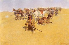 An Old-Time Plains Fight - Remington, Frederic (American, 1861 - Fine Art Reproductions, Oil Painting Reproductions - Art for Sale at Galerie Dada Oil Painting On Canvas, Canvas Art Prints, Frederic Remington, Cowboy Art, Oil Painting Reproductions, Le Far West, Western Art, American Artists, Art