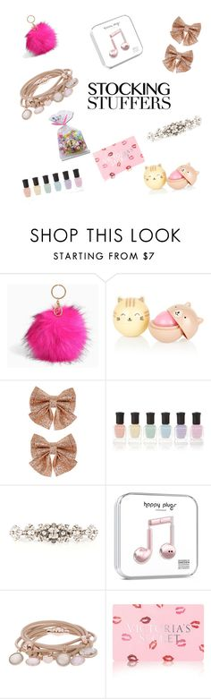 """stocking stuffers"" by kayla583 ❤ liked on Polyvore featuring Torrid, Monsoon, Deborah Lippmann, Dolce&Gabbana, Marjana von Berlepsch and Victoria's Secret"