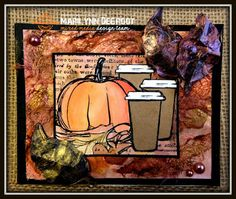 Mississippi McGyver: FALL COFFEE LOVER'S BLOGHOP second card