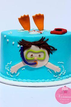 Perfect children's birthday cake