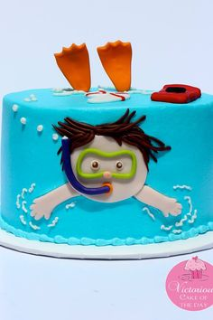 25 Pool Party Cakes That Make a Splash! More