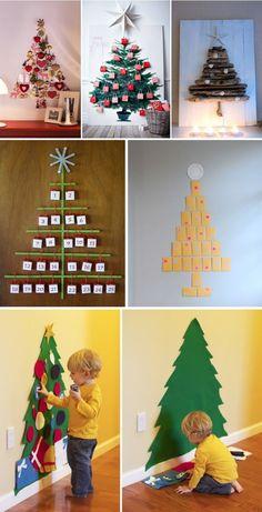 As mais lindas ideias criativas de enfeites de Natal 2016 e decoração natalina sem gastar muito! Decore sua casa para o Natal!