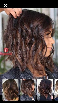Haare schneiden - Geflochtene Frisuren Cutting Hair Cutting Hair Cutting Hair # # 2018 The post cutting hair appeared first on Balayage Brunette, Brunette Hair, Balayage Hair, Brunette Color, Bayalage, Pelo Midi, Inverted Bob Hairstyles, Hairstyles Haircuts, Long Bob Hairstyles For Thick Hair