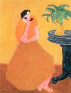 Party Line Milton Avery - 1958