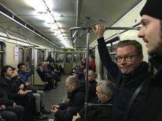 Ilmeestä huolimatta metro toimi moitteetta. Siellä oli jopa wifi! Sitä en kyllä saanut toimimaan puhelimessani.