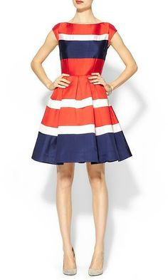 Kate Spade Britta Dress -perfect dress for 4th of july