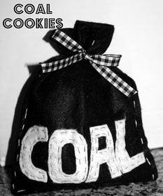 Coal Cookies