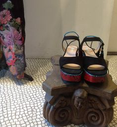Dries Van Noten piton sandals. #driesvannoten #dolcitrame #summer2014
