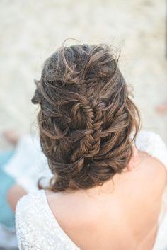 Fishtail braid french braid - how cool!