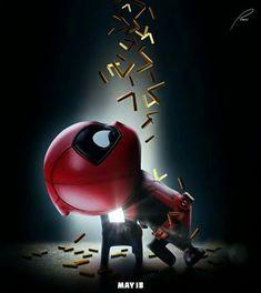 Chibi Marvel, Marvel Art, Marvel Heroes, Deadpool Pikachu, Deadpool Art, Deadpool Funny, Cute Disney Wallpaper, Cartoon Wallpaper, Wallpaper Art