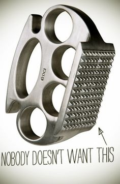 Brass Knuckle Meat Tenderizer