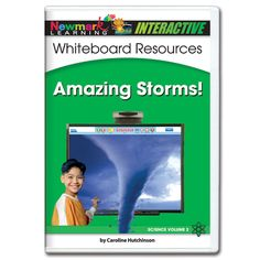 Science Interactive: Amazing Storms! Interactive Whiteboard CD-ROM