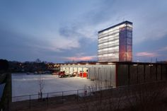 Fire Station, Puurs (by Compagnie-O. Architects)